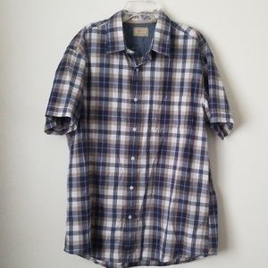 Arrow short sleeve button down L